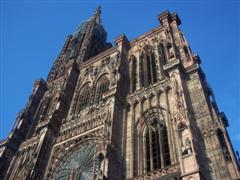 cathedrale strasbourg alsace vacances