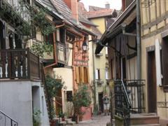 village typique alsacien eguisheim alsace vacances